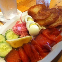 Photo taken at Josh's Delicatessen & Appetizing by CB G. on 10/6/2012