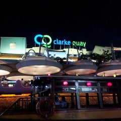 Photo taken at Clarke Quay by Alexey R. on 5/26/2013