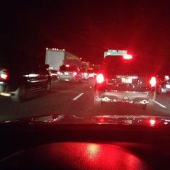 Photo taken at I-95 / I-495 Interchange by Brad on 2/23/2014