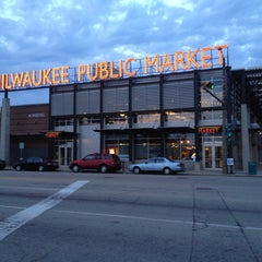 Photo taken at Milwaukee Public Market by Jeff on 6/15/2013