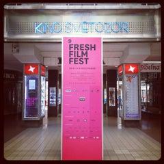 Photo taken at Kino Světozor by Lee R. on 9/1/2012