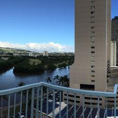 Photo taken at Coconut Waikiki Hotel by Lisa H. on 10/16/2015
