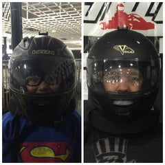 Photo taken at Fast Lap Indoor Kart Racing by Chris C. on 3/29/2015