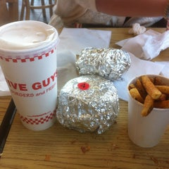 Photo taken at Five Guys by Abdullah on 7/7/2013