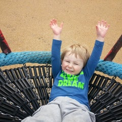 Photo taken at Woodland Discovery Playground @ Shelby Farms by Kaleo M. on 2/4/2015