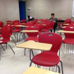 Photo taken at Universidad del Desarrollo by Patricio on 11/21/2012