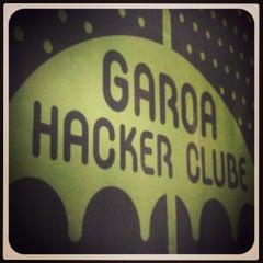 Photo taken at Garoa Hacker Clube by Sergio B. on 4/3/2013