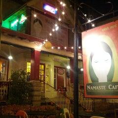 Photo taken at Namaste Cafe by Ramandeep S. on 10/19/2012