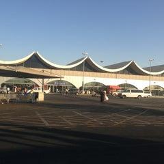 Photo taken at King Abdulaziz International Airport (JED) مطار الملك عبدالعزيز الدولي by Saami M. on 6/23/2013