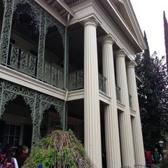 Photo taken at Haunted Mansion by Will D. on 4/14/2013