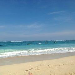 Photo taken at Pantai Pandawa (Pandawa Beach) by Толик on 5/31/2013