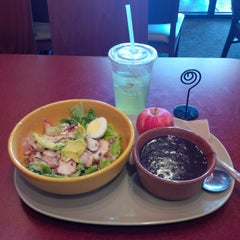 Photo taken at Panera Bread by Robyn T. on 6/7/2014