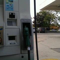 Photo taken at BP by Naidra on 9/17/2012