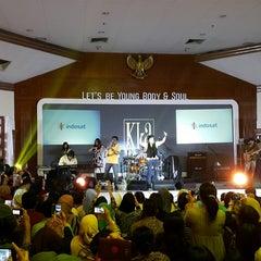 Photo taken at Kantor Pusat PT. Indosat Tbk. by Bulan Ratu P. on 12/19/2014