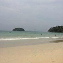Photo taken at หาดกะตะ (Kata Beach) by Ann on 4/8/2013