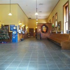 Photo taken at Hudson Amtrak Station (HUD) by Holly N. on 12/4/2012