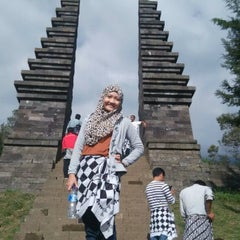 Photo taken at Candi Cetho by Maharani C. on 8/2/2015