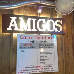 Photo taken at Amigos Tortilla Bar Mexican Restaurant by Jonathan F. on 2/20/2013