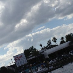 Photo taken at Rick's on the River by Jan B. on 12/1/2012