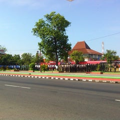 Photo taken at Alun Alun Kendal by Kidemang T. on 7/28/2013
