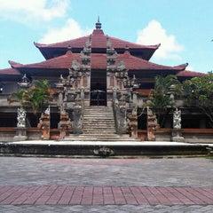Photo taken at Taman Werdhi Budaya Art Center by nurita k. on 3/10/2013