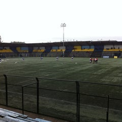 Photo taken at Estadio Ruben Marcos Peralta by Rodolfo V. on 7/16/2013
