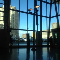 Photo taken at Rosa Parks Transit Center by Jibreel R. on 11/18/2012