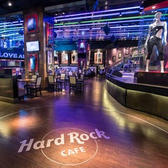 Photo taken at Hard Rock Cafe Santiago by Hard Rock Cafe Santiago on 1/7/2014