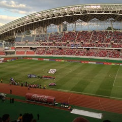 Photo taken at Estadio Nacional by Henry on 1/27/2013