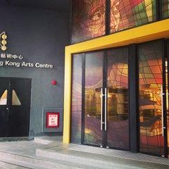 Photo taken at Hong Kong Arts Centre 香港藝術中心 by Shau Chiang H. on 4/7/2013