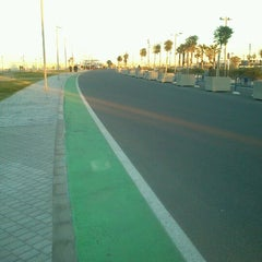 Photo taken at Circuit de Valencia by Rinat 🚲 F. on 2/9/2013