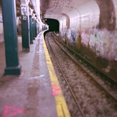 Photo taken at MTA Subway - 20th Ave (N) by QQ W. on 11/15/2013
