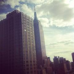 Photo taken at Residence Inn New York Manhattan/Times Square by Jasper V. on 9/16/2012