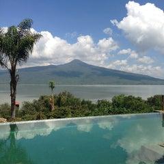 Photo taken at Hacienda Ucazanaztacua by Claudia on 8/2/2013