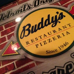 Photo taken at Buddy's Pizza by Rosland on 3/3/2013