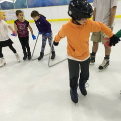 Photo taken at Kallang Ice World by Dave C. on 8/23/2015