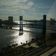 Photo taken at Hyatt Regency Jacksonville by Randy on 11/4/2012