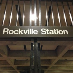 Photo taken at Rockville Metro Station by Todd S. on 12/18/2012