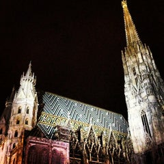Photo taken at Stephansdom | St. Stephen's Cathedral by Pierre B. on 12/30/2012