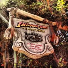 Photo taken at Indiana Jones Adventure by Mayor JC Otis Wilson III on 9/7/2013