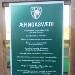 Photo taken at Golfklúbbur Kópavogs og Garðabæjar (GKG) by travel c. on 10/3/2012