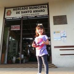 Photo taken at Mercado Municipal de Santo Amaro by Ricardo A. on 6/8/2013