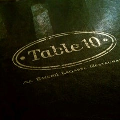 Photo taken at Table 10 by Emeril Lagasse by Karol A. on 12/15/2012