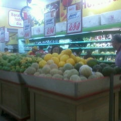 Photo taken at Bom Dia Supermercado by Cícero E. on 1/4/2013