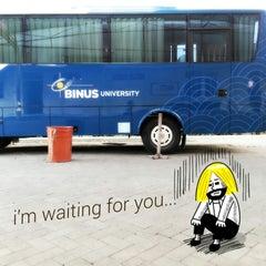 Photo taken at BINUS University by Yuli D. on 12/15/2012