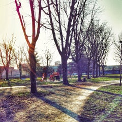 Photo taken at Parco Porporati by Carlo M. on 12/31/2014