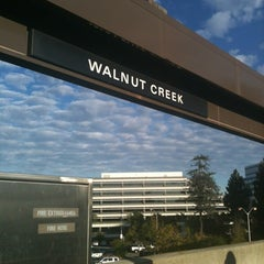 Photo taken at Walnut Creek BART Station by Bianca H. on 11/14/2012