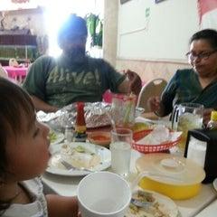 Photo taken at Teacapan Restaurant by Jaime T. on 9/20/2012