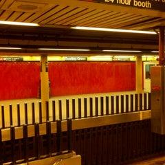 Photo taken at MTA Subway - Bowling Green (4/5) by Kobie B. on 11/18/2012