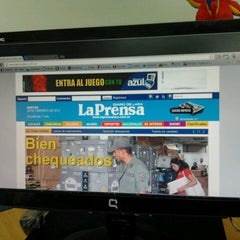 Photo taken at Diario La Prensa by Freddy B. on 2/26/2013